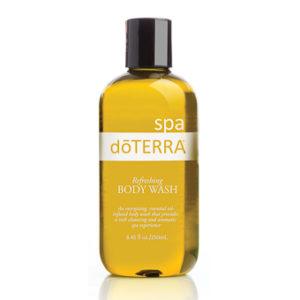 spa refreshing body wash